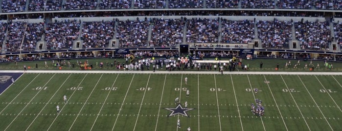AT&T Stadium is one of Sporting Venues.