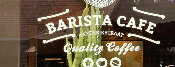 Barista Cafe is one of The Hague.