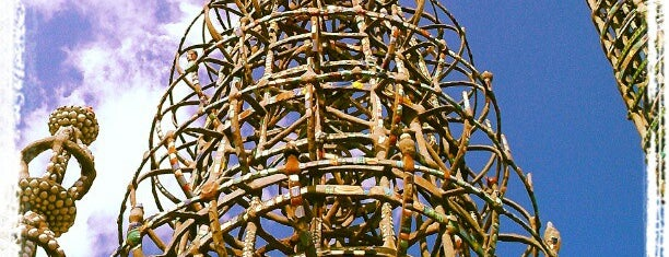 Watts Towers of Simon Rodia State Historic Park is one of Cali.