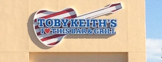Toby Keith's I Love This Bar & Grill is one of Dives.
