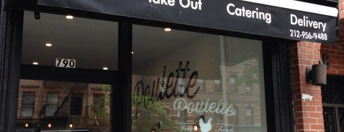 Poulette is one of Midtown Lunch.