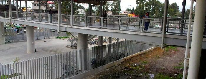 Biciestacionamiento Metro Tláhuac is one of Lugares con biciestacionamiento.