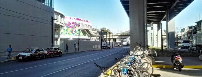 Biciestacionamiento  Metro Periférico Oriente is one of Lugares con biciestacionamiento.