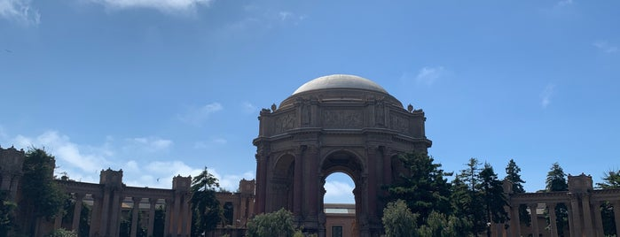 The Rotunda is one of SF.