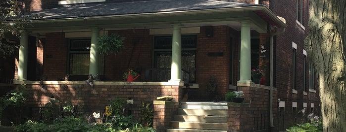 Woodbridge Neighborhood Historic District is one of Motown.