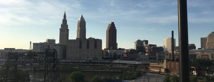 The William Henry Hope Memorial Bridge is one of Enjoy Cleveland.