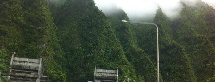Pali Highway (Hawaii Route 61) is one of Hawaii Trip!.