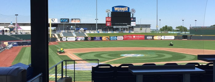 Werner Park Press Box is one of Omaha days.