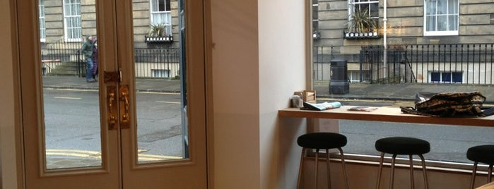 The New Town Deli is one of Edinburgh coffee.