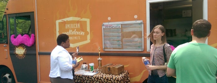 RTP Food Truck Rodeo is one of Locais curtidos por Kyle.