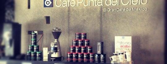 Café Punta Del Cielo is one of Tempat yang Disukai María.
