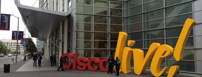 Cisco Live! 2014 is one of Arkadiy : понравившиеся места.