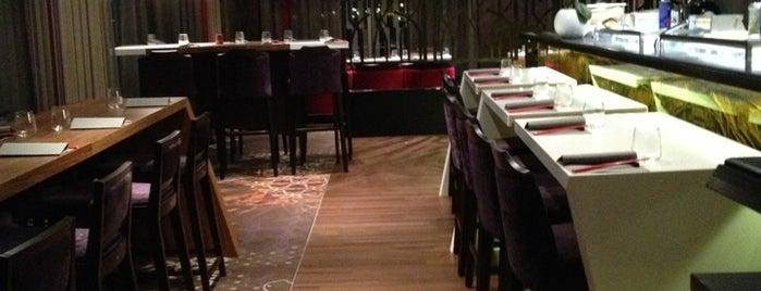 Katana Sushi & Grill is one of สถานที่ที่ Sarah ถูกใจ.