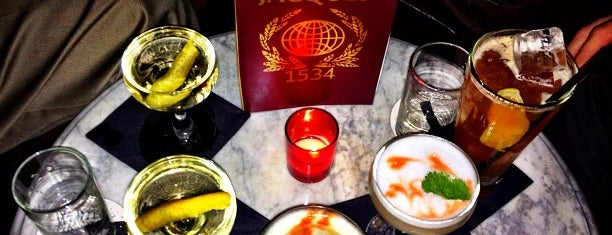 Jacques1534 is one of Whisky Bars @ NYC & Boston.