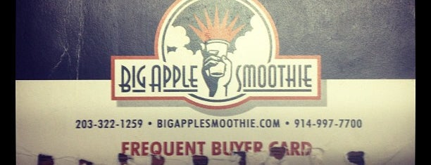 Big Apple Smoothie is one of Westchester to do.