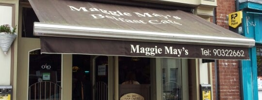 Maggie May's is one of Never been.