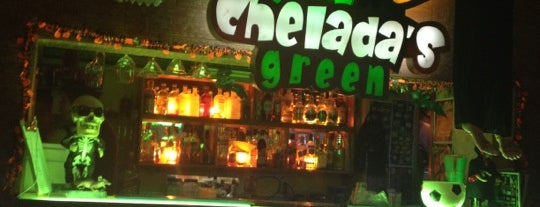 Chelada's Green is one of Lugares nuevos.