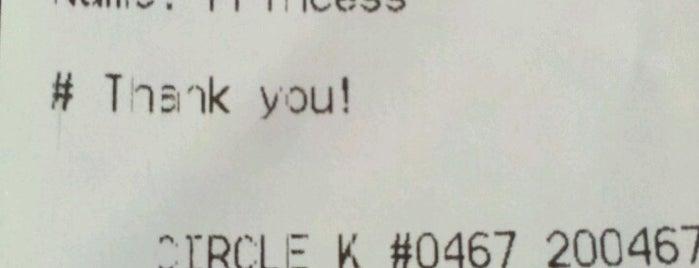 Circle K is one of สถานที่ที่ Christopher ถูกใจ.