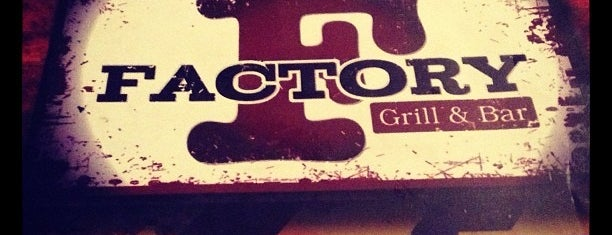 Factory Grill and Bar is one of pour manger =).