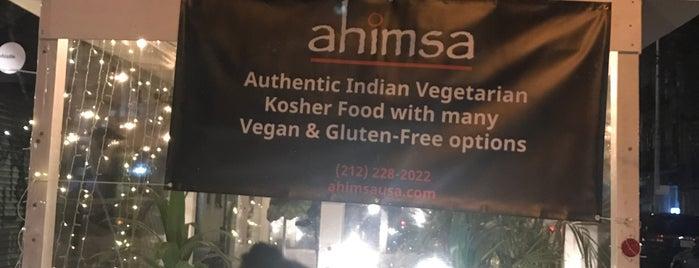 Ahimsa is one of veg.