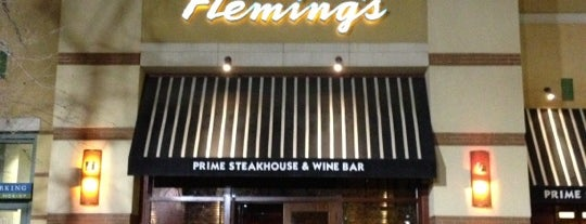 Fleming's Prime Steakhouse & Wine Bar is one of Locais salvos de Jordan.