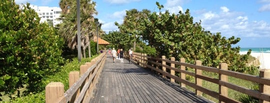 Miami Beach Boardwalk is one of Pavlos list.