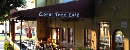 Coral Tree Café is one of David & Dana's LA BAR & EATS!.