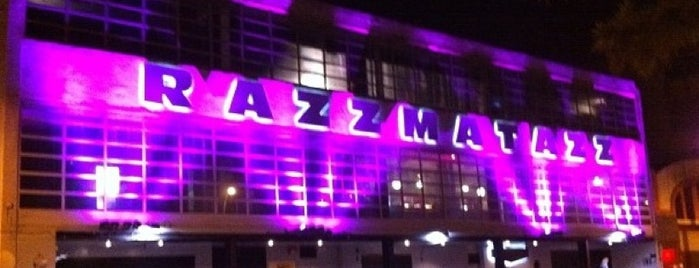 Razzmatazz is one of Favorite points Bcn.