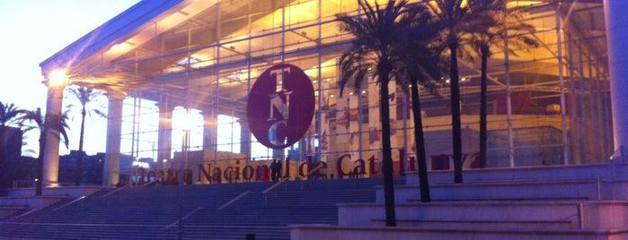 Teatre Nacional de Catalunya is one of Terrazas Barcelona.