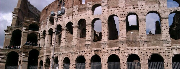 Piazza del Colosseo is one of Rome.