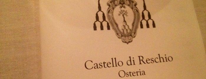 Osteria Castello Di Reschio is one of Italy.