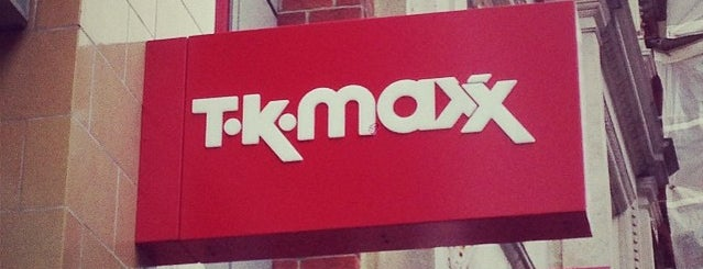TK Maxx is one of Locais curtidos por Kevin.