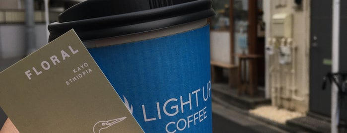 LIGHT UP COFFEE is one of Whitさんの保存済みスポット.