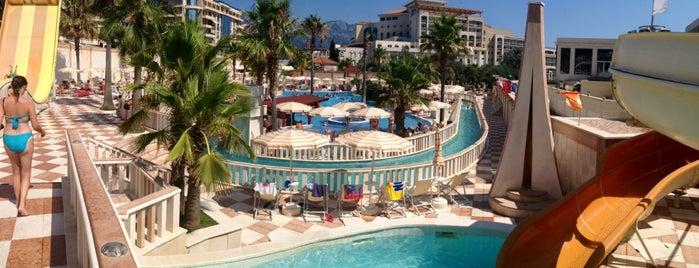 Aqua Park Mediteran is one of trip to Montenegro.