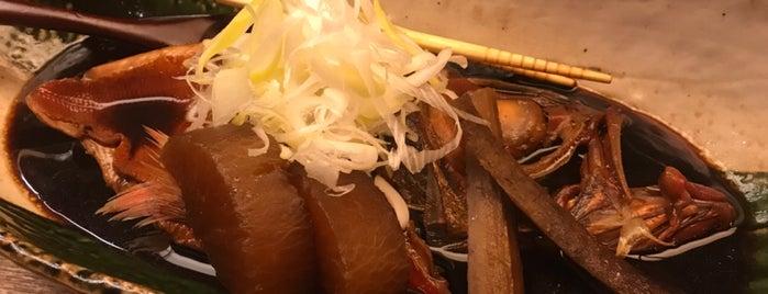 銀座 魚ばか is one of Orte, die Shinichi gefallen.