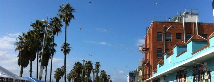 Venice Beach Boardwalk is one of Los Angeles, CA.