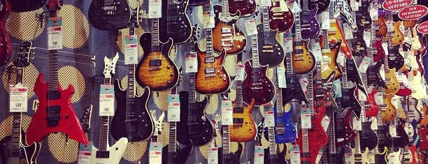 Guitar Center is one of NYC.