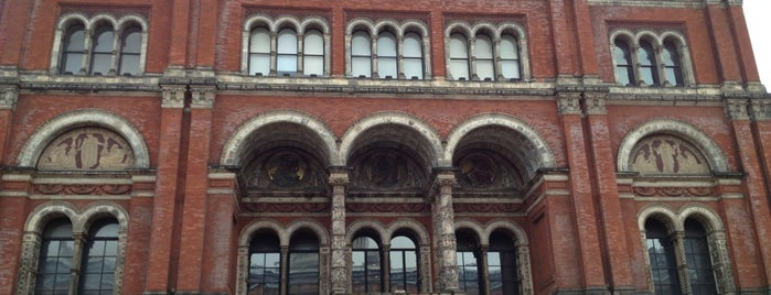Victoria and Albert Museum (V&A) is one of UK.