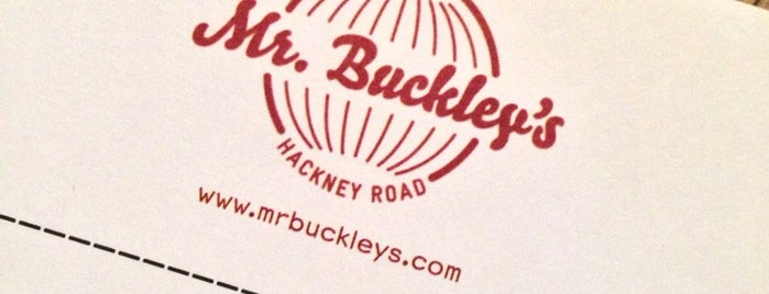 Mr Buckley's is one of London.