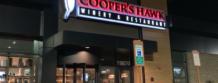 Cooper's Hawk Winery & Restaurant is one of Restaurants to try.