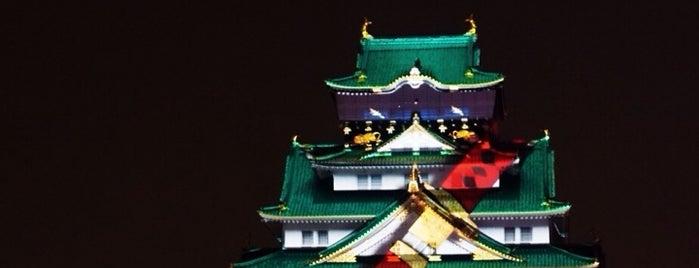 大阪城 3Dマッピングスーパーイルミネーション is one of Lugares favoritos de fantasista_7.