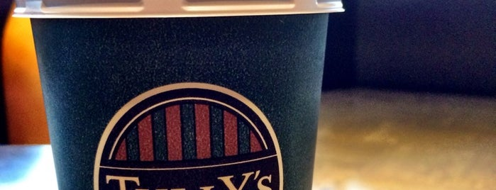 Tully's Coffee is one of Gise 님이 저장한 장소.