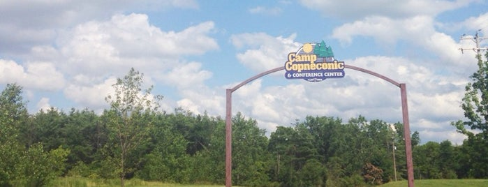 Camp Copneconic is one of Lugares favoritos de Kyle.