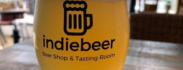 Indie Beer is one of Tempat yang Disukai Carl.