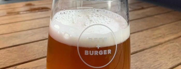 Beer + Burger is one of Lugares favoritos de Ralph.