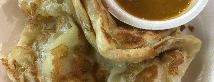 Prata Saga Sambal Berlada is one of Micheenli Guide: Best of Singapore Hawker Food.