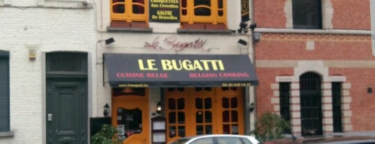 Le Bugatti is one of Bruxelles.