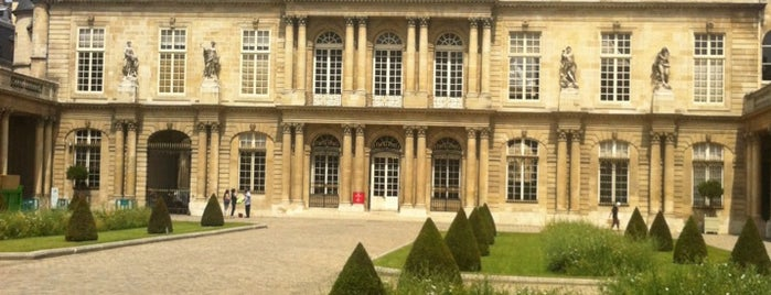 Archives Nationales is one of Paris.