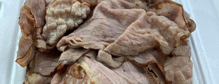 Springer's Meat & Deli is one of Tempat yang Disimpan Daniel.
