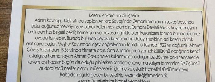 Meşhur Kavurmacı is one of Yemek.